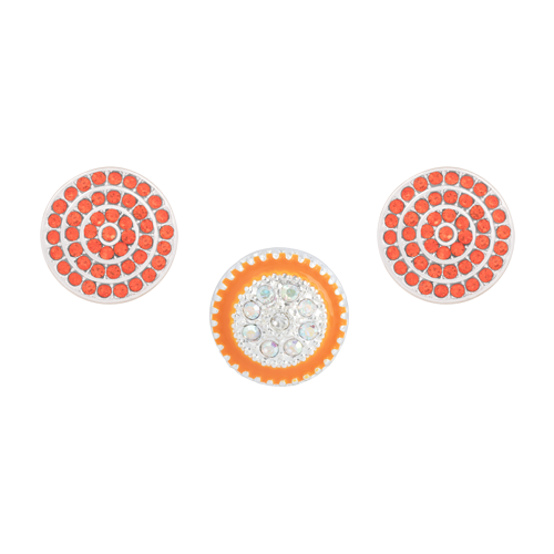 Orange Glimmer Dot Set